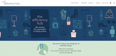 The efficiency hub homepage